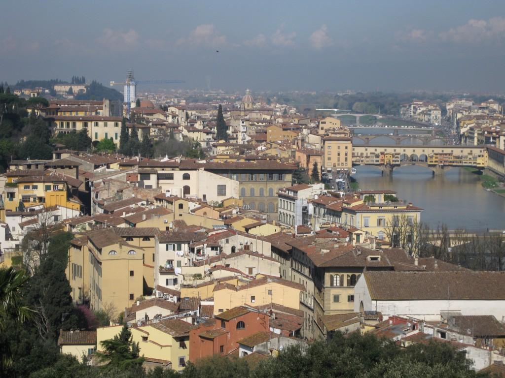 Utsikt mot Arno