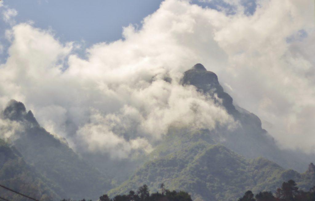 Utsikt oppover fra Sao Vicente