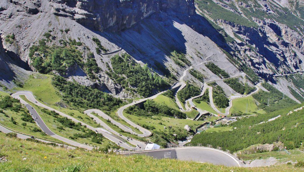 Veien fra Bormio til Stelvio